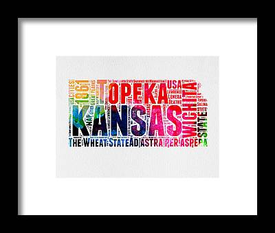 Topeka Framed Prints