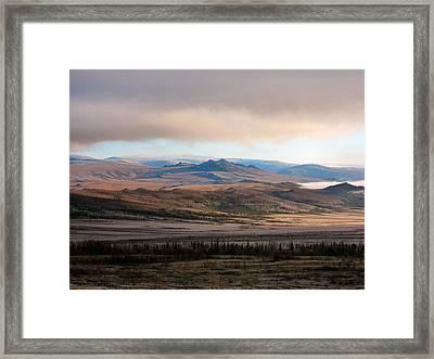 Kanuti Flats Framed Print by Adam Owen