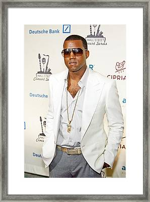 Kanye West At Arrivals For 2006 Framed Print by Everett