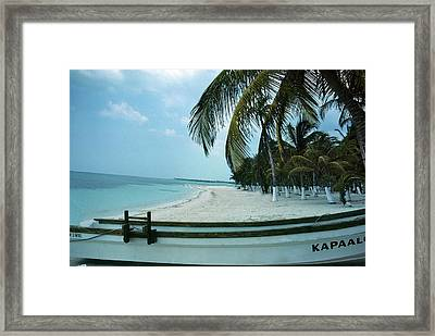 Framed Print featuring the photograph Kapallo by Carol Kinkead