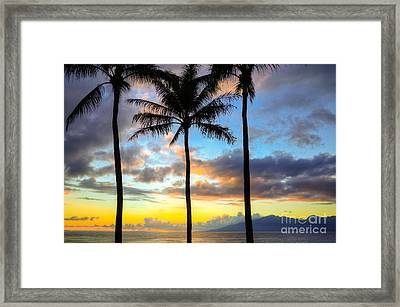 Framed Print featuring the photograph Kapalua Dream by Kelly Wade