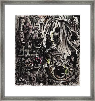 Kara's World Framed Print by Rachel Christine Nowicki