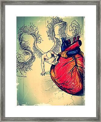 Kardia Framed Print