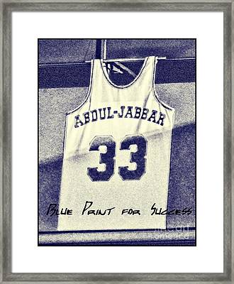 Kareem Abdul-jabbar Framed Print