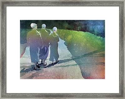 Karen's Dream Framed Print by Kris Parins