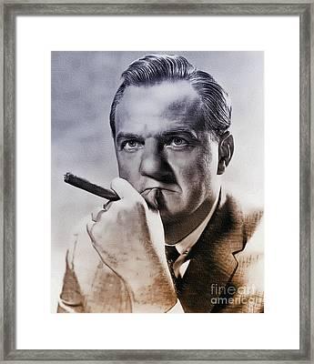 Karl Malden - Actor Framed Print