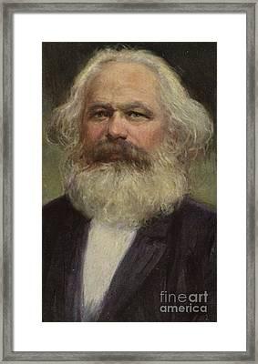 Karl Marx  Framed Print