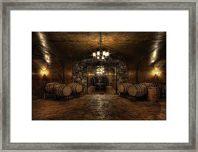 Karma Winery Cave Framed Print