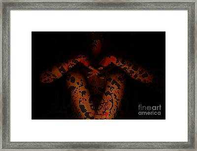 Karmic Illusion Framed Print by Eva Maria Nova