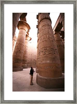 Karnak Temple Framed Print