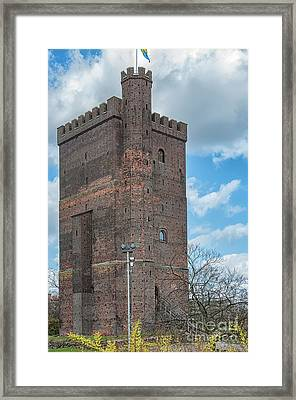 Framed Print featuring the photograph Karnan In Helsingborg by Antony McAulay