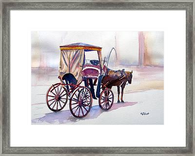 Karozzin Framed Print by Marsha Elliott
