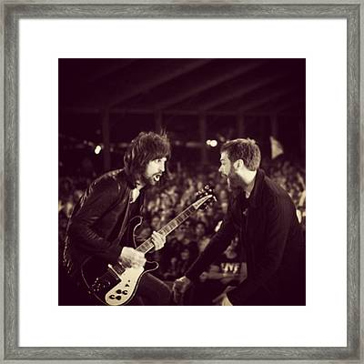 Kasabian Framed Print
