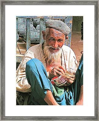 Kashgar Man Framed Print