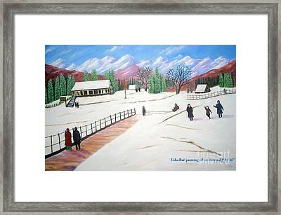 Kashmir Framed Print