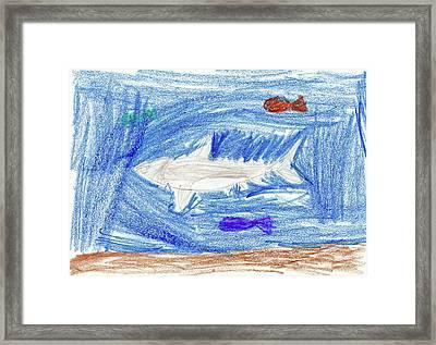 Kason A Framed Print by Kason A