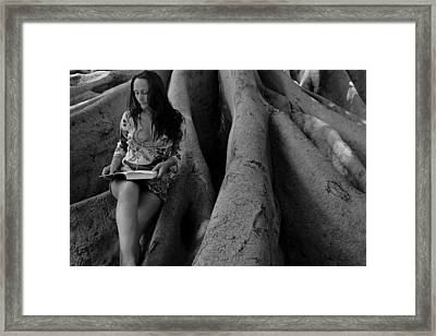 Kassandra 7 Framed Print by David Miller