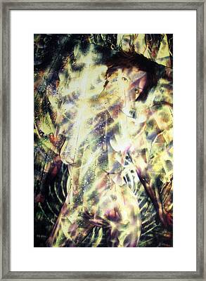 Kat Glows Framed Print by Leigh Odom