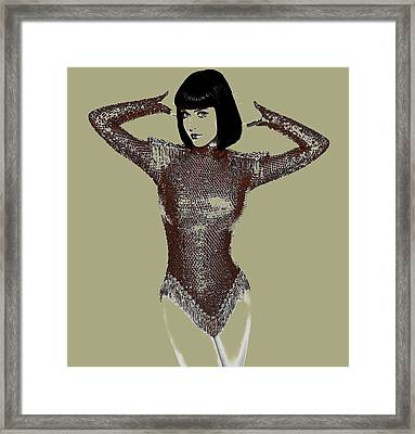 Kata Perry 2a Framed Print by Brian Reaves