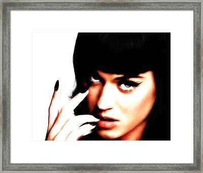 Kata Perry Framed Print by Brian Reaves