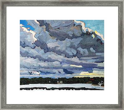 Katabatic Cold Front Framed Print by Phil Chadwick