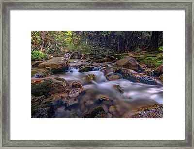 Katahdin Stream Framed Print