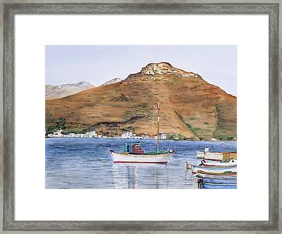 Katapola Framed Print by Tom Dorsz