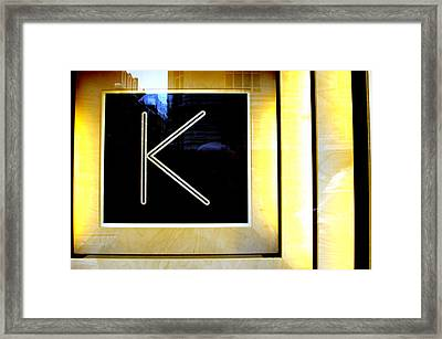 Kate Framed Print by Jez C Self