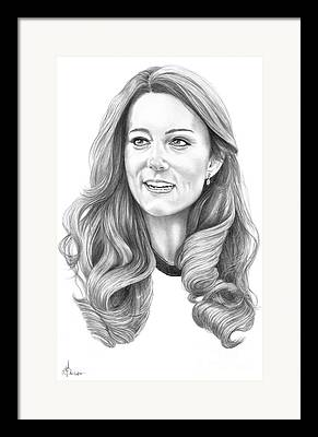 Kate Middleton Framed Prints