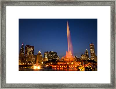 Kates Memorial To Clarence Framed Print by Donald Schwartz