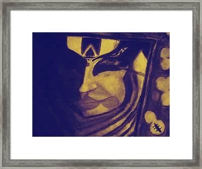 Kathak Framed Print