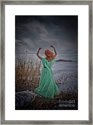 Katharsis Series 3/3 Release Framed Print