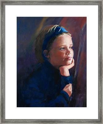 Katherine Framed Print by Jeanne Rosier Smith