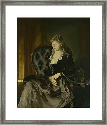 Katherine Rosen Framed Print by George Bellows