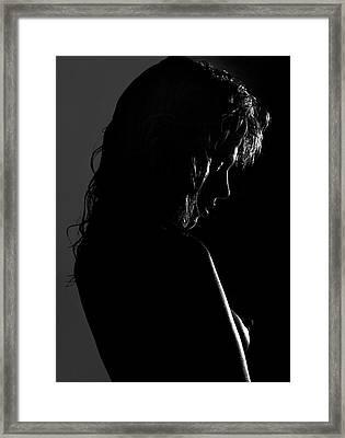 Kathy Framed Print by Sergio Bondioni