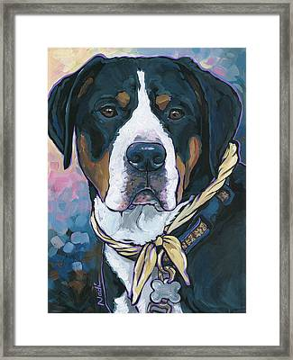 Katie Framed Print by Nadi Spencer