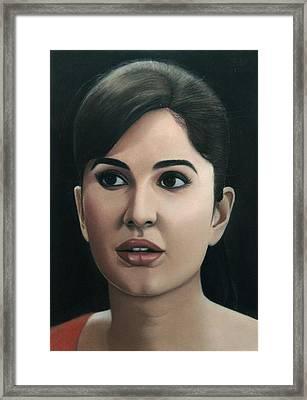Katrina Kaif Framed Print