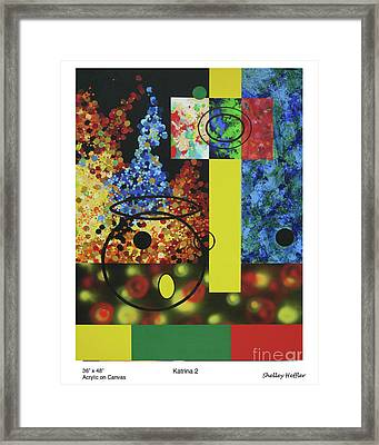Katrina Framed Print by Shelley Heffler