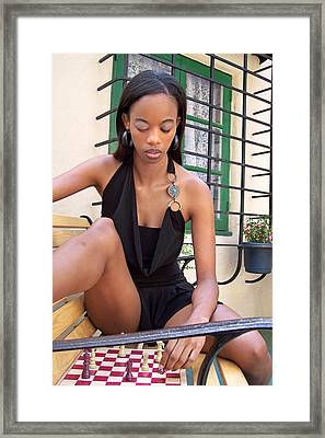 Katryna 2-5 Framed Print by David Miller