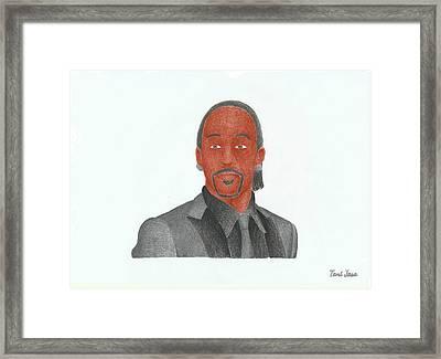 Katt Williams Framed Print