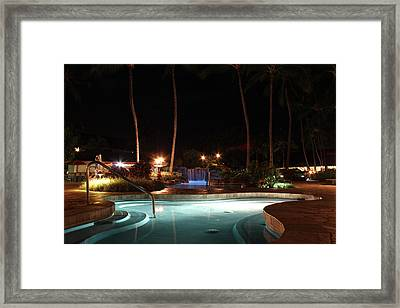 Kauai Coast Resort At The Beachboy Framed Print by Erik Barker