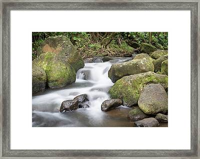 Kauai Flow Framed Print