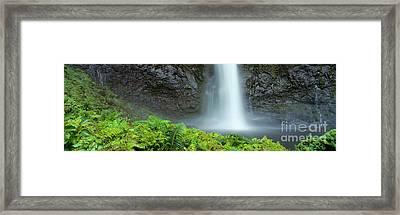 Kauai Inland Falls Framed Print by David Cornwell/First Light Pictu - Printscapes