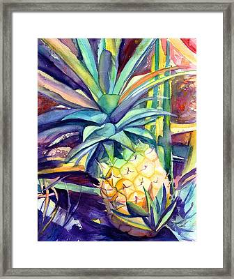 Kauai Pineapple 4 Framed Print