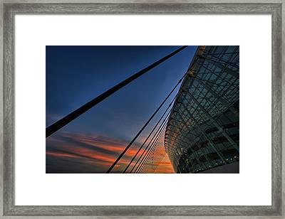 Kauffman Center Cabled Framed Print