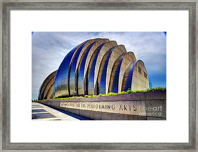 Kauffman Center For The Performing Arts Framed Print