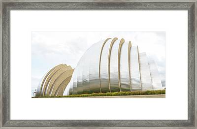 Kauffman Center Performing Arts Framed Print by Pamela Williams