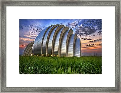 Kauffman Lawn Framed Print