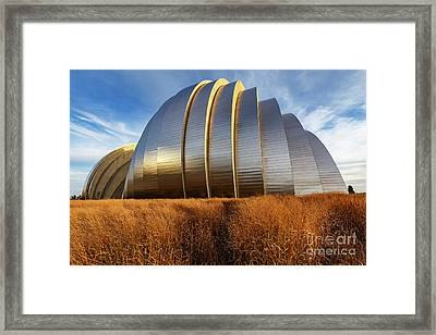 Kauffman Pac Framed Print by Dennis Hedberg