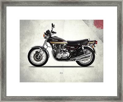 Kawasaki Z1a 1974 Framed Print